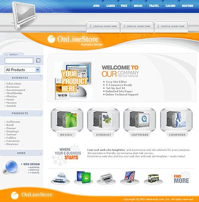 website themes
